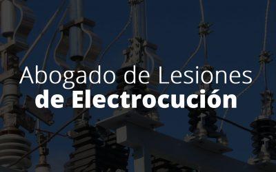 Abogado de Lesiones de Electrocución